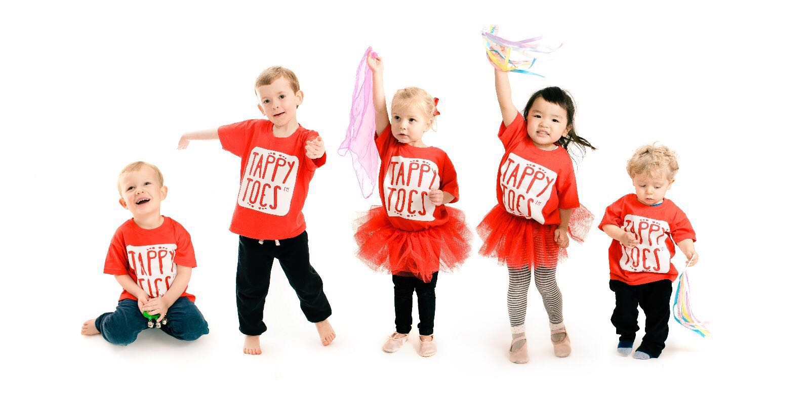 Tappy Toes toddler dancers