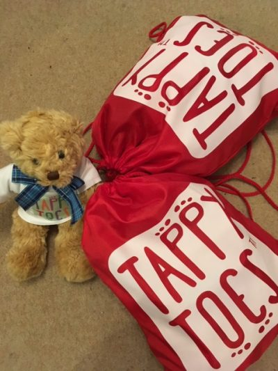 Tappy Ted dance prop