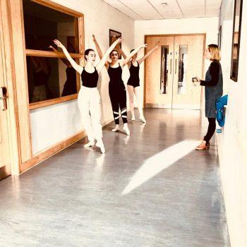Ballet dance exams