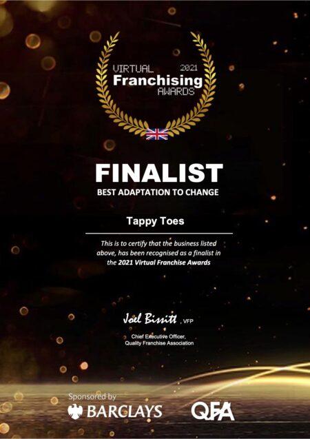 Virtual Franchising Award