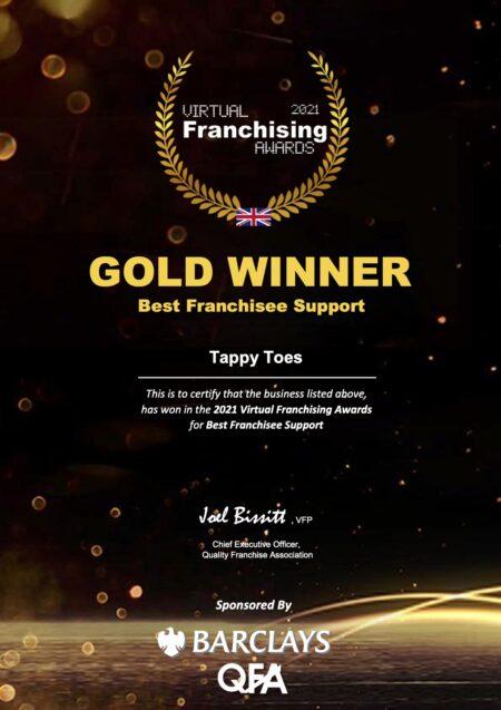Franchise Award winners